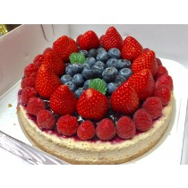 WEI甜/草莓莓果6吋乳酪蛋糕-另有8吋