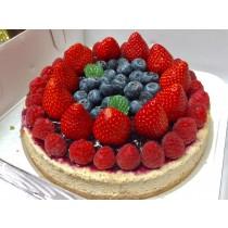 WEI甜/草莓莓果8吋乳酪蛋糕-另有6吋